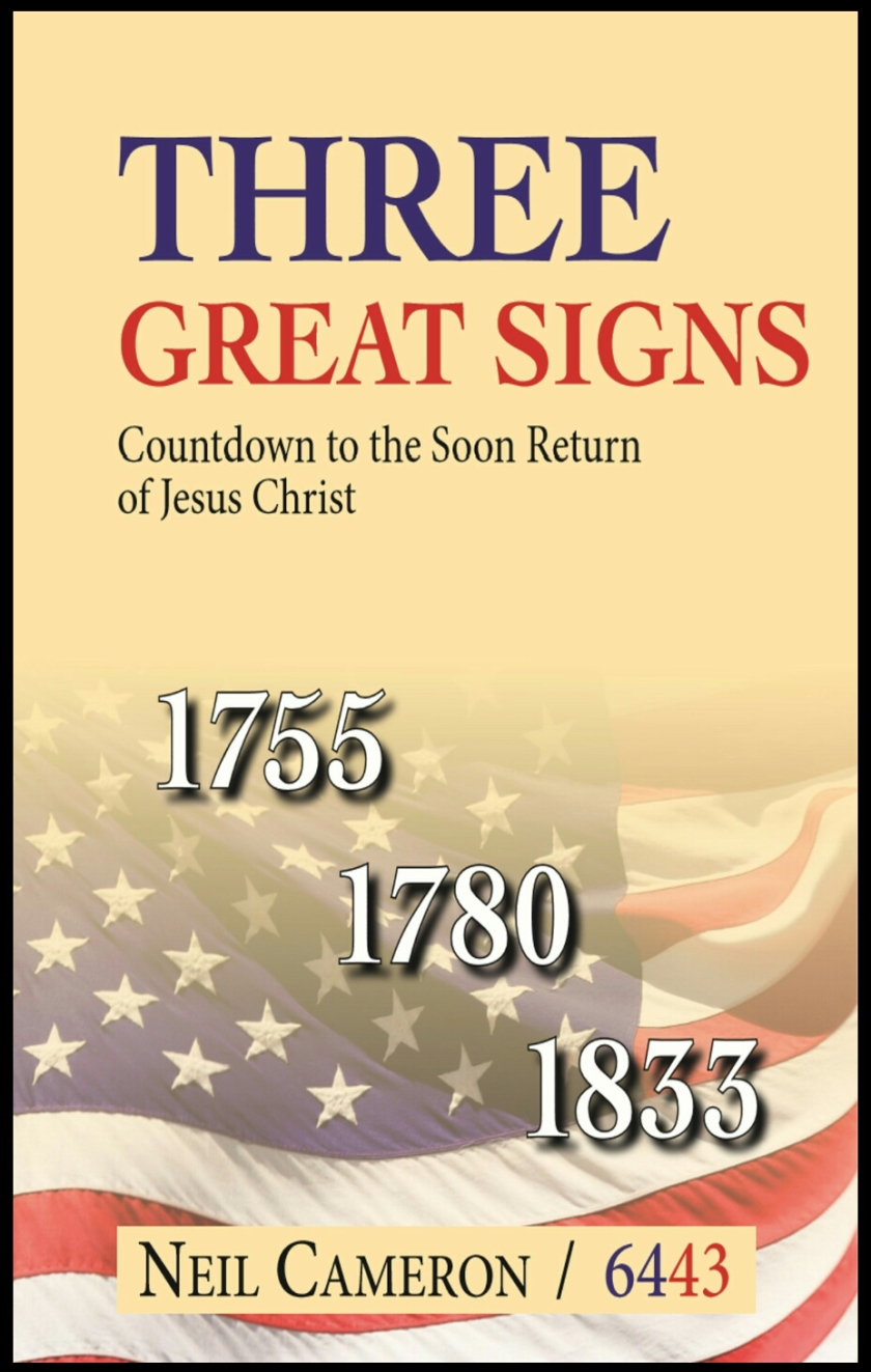 image of three great signs book cover